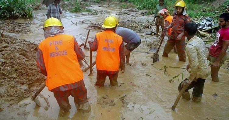 Bangladeş'te heyelan: 68 ölü