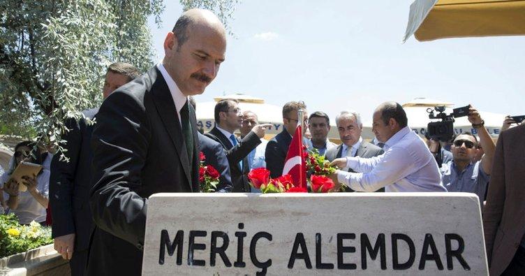 Bakan Soylu, Gölbaşı 15 Temmuz Şehitliği'ni ziyaret etti