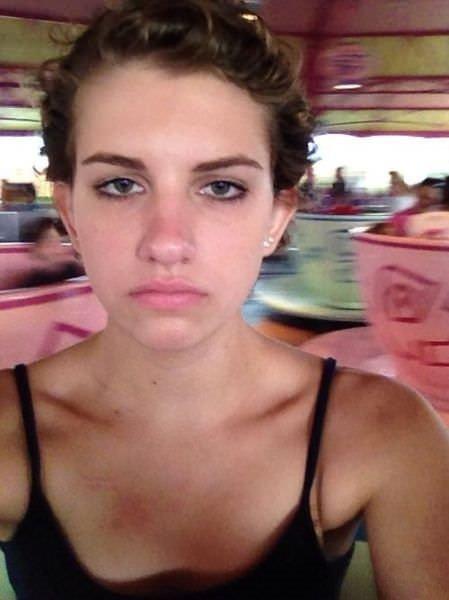 Dünyanın en mutsuz kızı