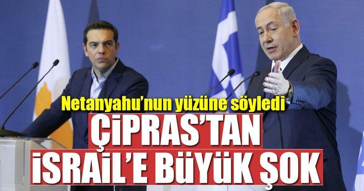 Yunanistan'dan İsrail'e büyük şok