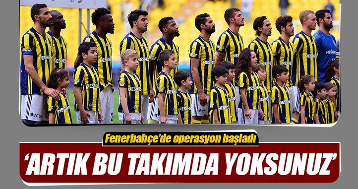 Fenerbahçe'den operasyon: Kesinlikle yoksunuz