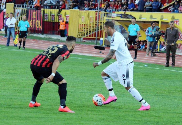 Eskişehirspor-Beşiktaş maçından kareler