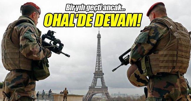 Hollande'dan olağanüstü hale devam kararı!