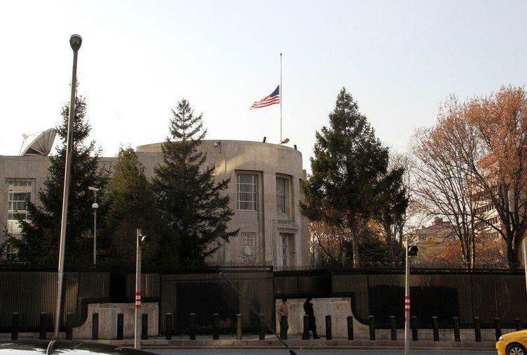 ABD Büyükelçiliği önünde patlama