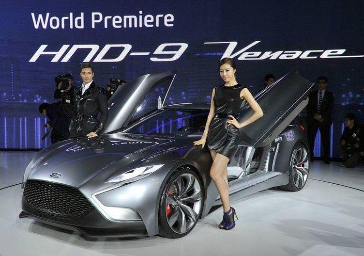 Hyundai'nin yeni modelleri Seul Otomobil Fuarı'nda