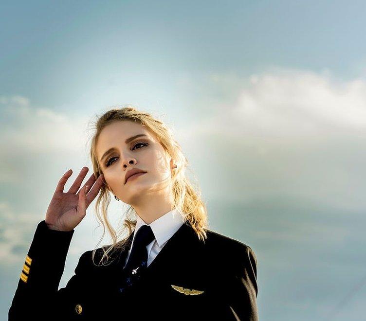 THY'nin kadın pilotu Ebru Ünsal bilinmeyenleri anlattı