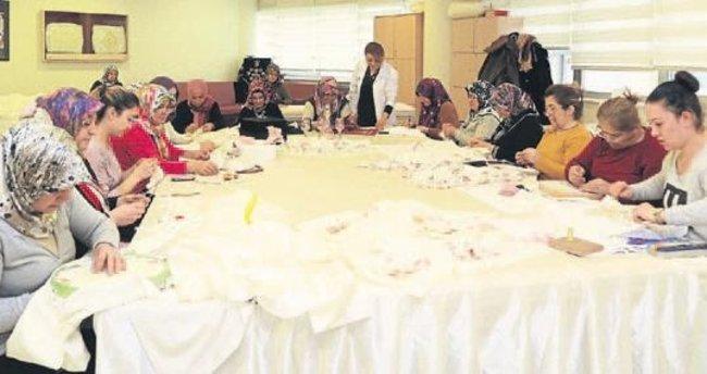 Şahinbey'in kurslarına aileler rağbet gösteriyor