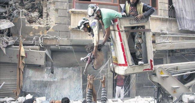 Halep'te insanlık suçu