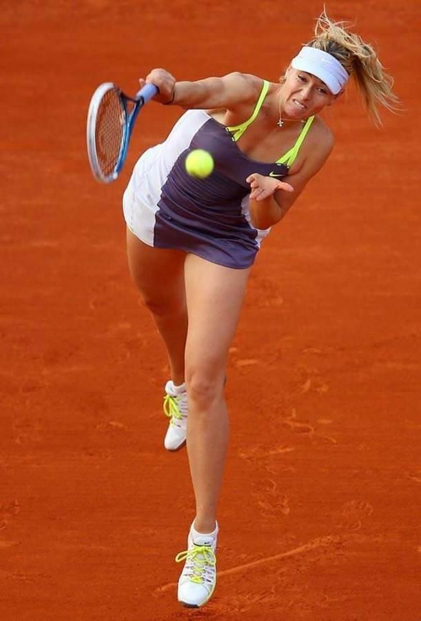 Sharapova'nın hiç görmediğiniz fotoğrafları