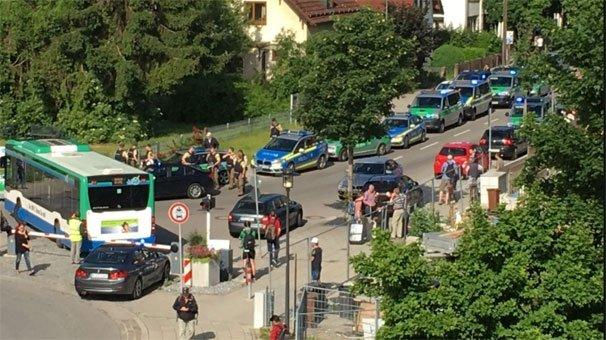 Son dakika: Münih'te çatışma!