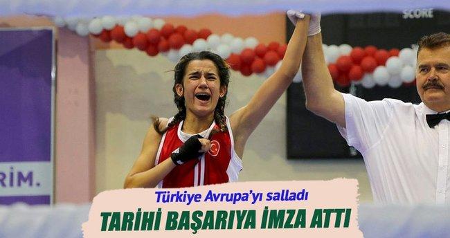 Türkiye yıldız ve gençlerde Avrupa'yı salladı