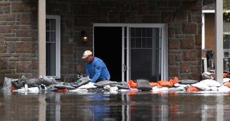 Çin'de aşırı yağış nedeniyle 172 ev yıkıldı