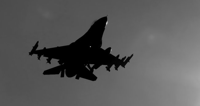 F-16'lara Suriye hududunda devriye görevi