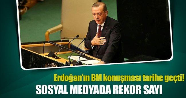 Milyonlar Cumhurbaşkanı Erdoğan'ı takip etti