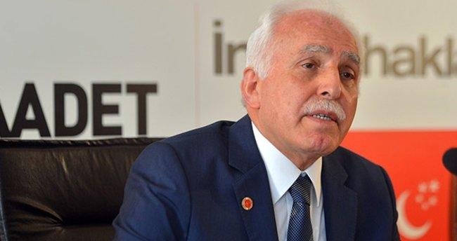 Mustafa Kamalak Saadet Partisi'ne veda etti