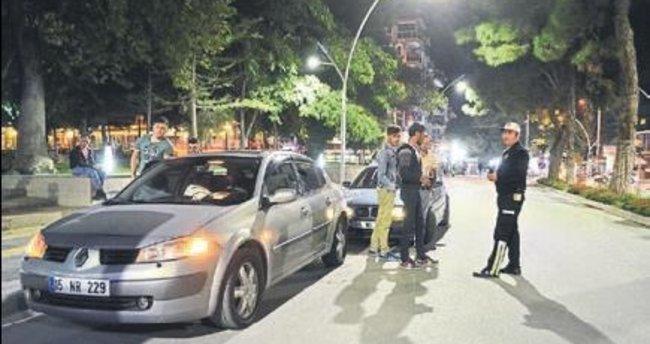Burdur'da huzur operasyonu yapıldı