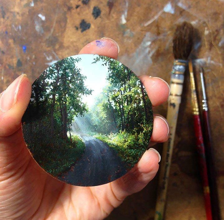 Dina Brodsky'nin minimalist çalışmaları