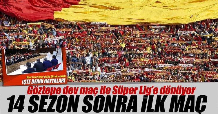 14 sezon sonra ilk maç Fenerbahçe ile