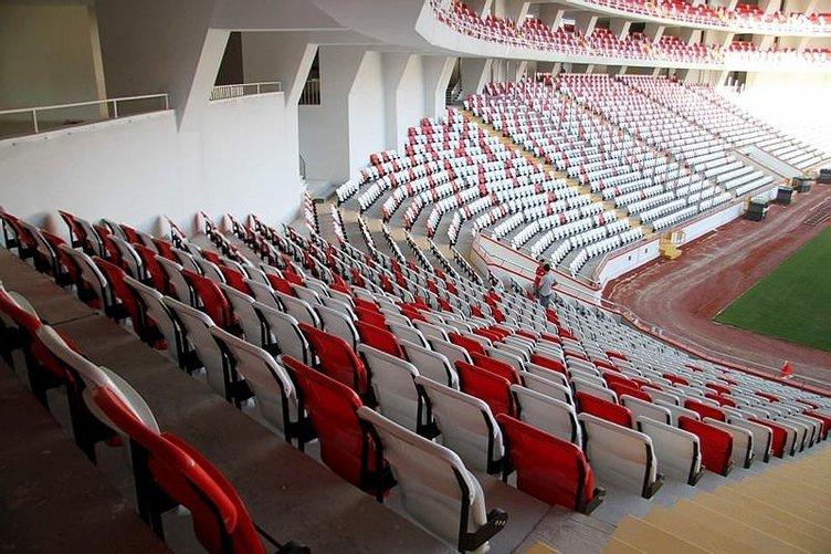 Antalyaspor'un yeni stadı artık hazır