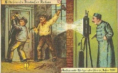 100 yıl önce geleceği böyle çizdiler