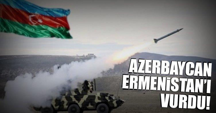 Son dakika: Azerbaycan, Ermenistan birliklerini vurdu