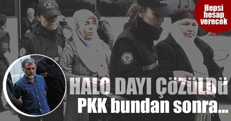 Halo dayı çözüldü! PKK'yı bundan sonra daha zor günler bekliyor