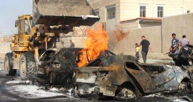Irak'taki bombalı saldırı