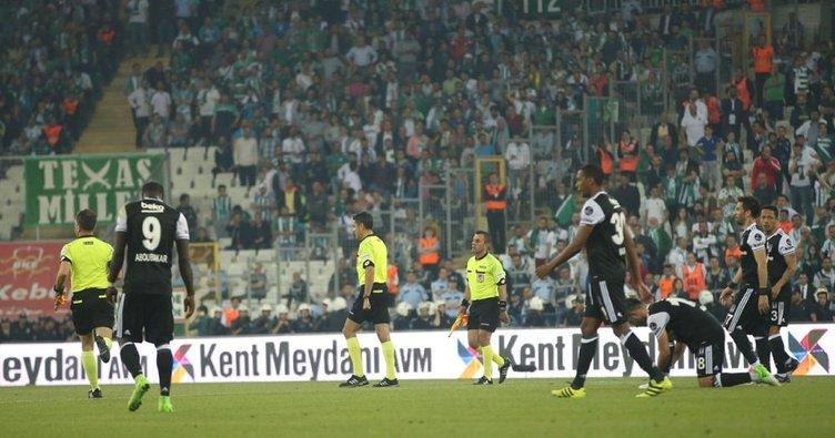 BJK TV kameramanına maçlara girmeme cezası