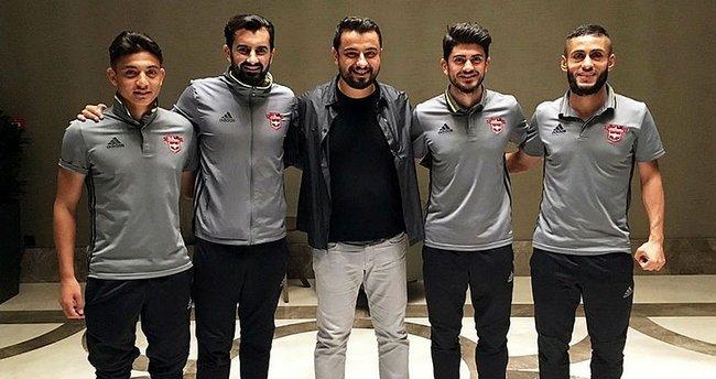 Gaziantepspor'da 4 oyuncunun sözleşmesi uzatıldı