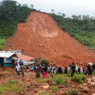 Sierra Leone'da ölü sayısı 500'e yükseldi!