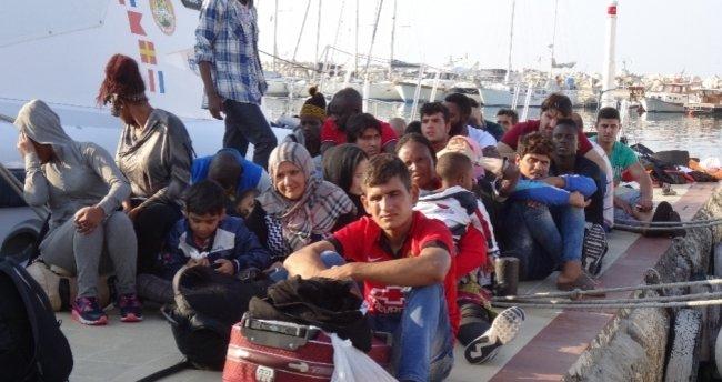 68 kaçak ve sığınmacı yakalandı