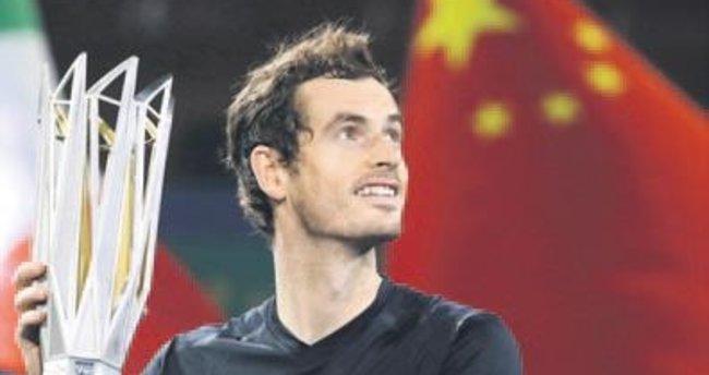 Andy Murray'den Çin'de tarihi zafer
