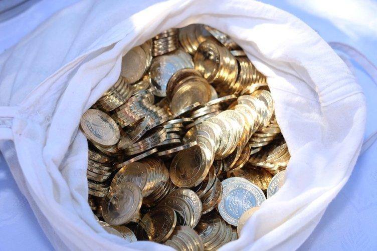 Enişteden damada bir çuval para