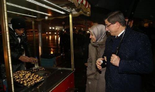Başbakan Davutoğlu o fotoğrafı paylaştı