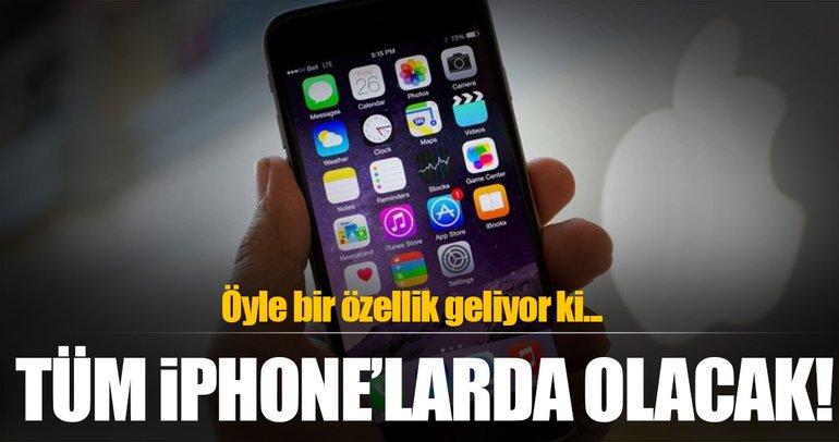 Tüm iphone'lara panik butonu geliyor!