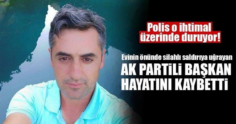 Ak Parti Lice İlçe Başkan Yardımcısı silahlı saldırıda hayatını kaybetti