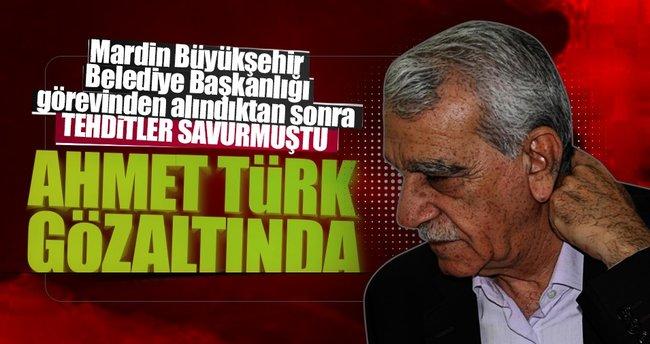 Ahmet Türk gözaltına aldındı