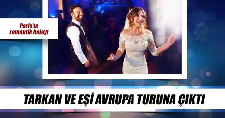 Tarkan ve Pınar Dilek balayına çıktı