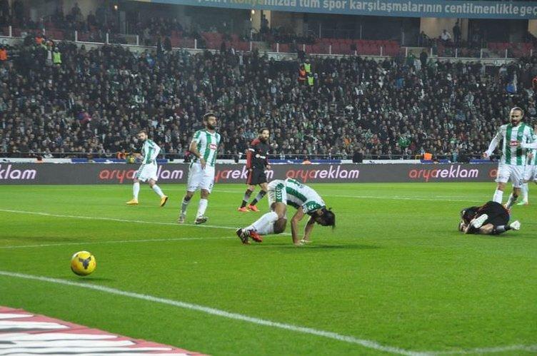 Torku Konyaspor - Beşiktaş maçının fotoğrafları