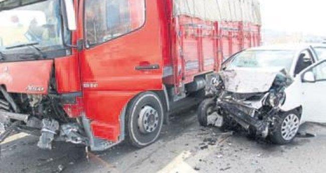 Üniversiteli genç kaza kurbanı oldu