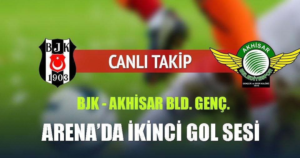 Beşiktaş, Akhisar Belediyespor'u ağırlıyor