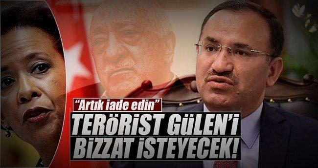 Terörist Gülen'i bizzat isteyecek