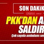 Son dakika: Diyarbakır Hazro'da bombalı araçla saldırı!