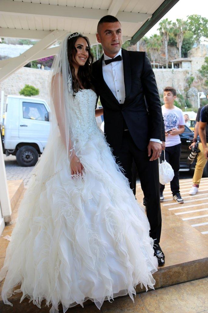 Eşi Burak Yılmaz'a boşanma davası açtı