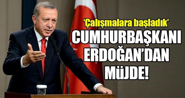 Cumhurbaşkanı Erdoğan'dan 'müzik üniversitesi' müjdesi!