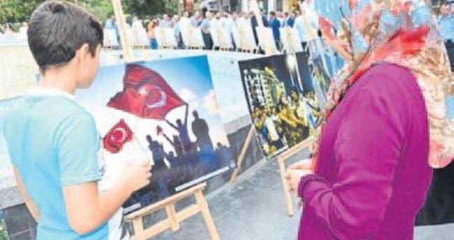 15 Temmuz Milli İrade Sergisi açıldı