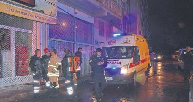 Ev yangınında 3 kişi yaralandı