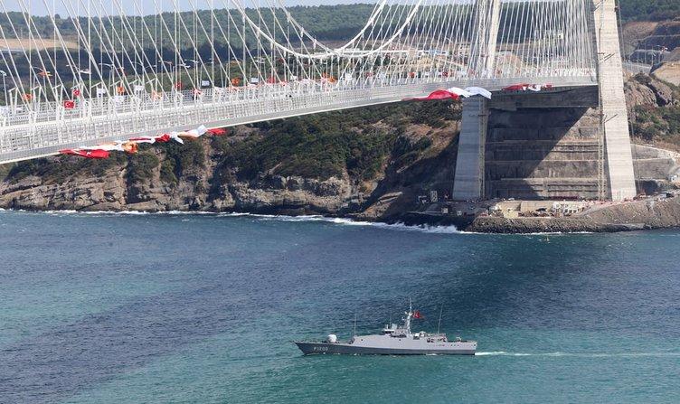 Halk Yavuz Sultan Selim Köprüsü açılışına akın ediyor