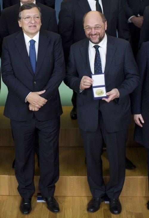 Nobel Ödülleri teslim edildi
