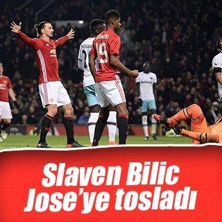 Slaven Bilic, Mourinho'ya tosladı!